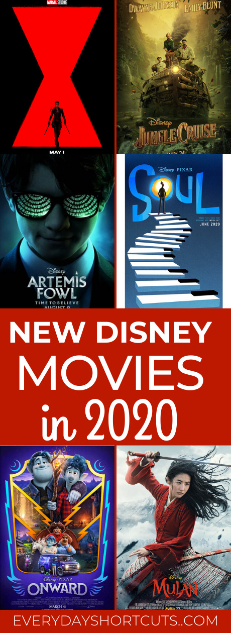 New Disney Movies Coming Out in 2020