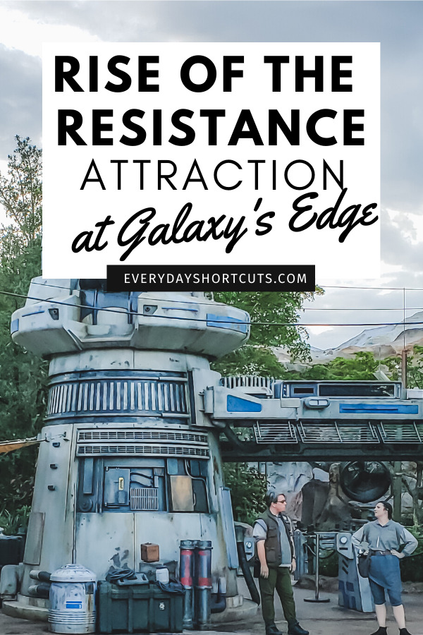 Rise of the Resistance at Galaxy's Edge