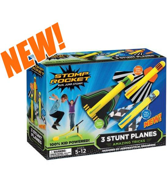 Stomp Rocket Stunt Plane Image