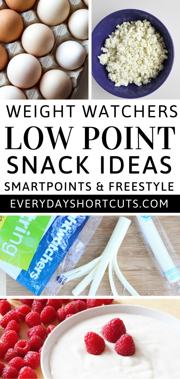 Weight Watchers Low Point Snack Ideas