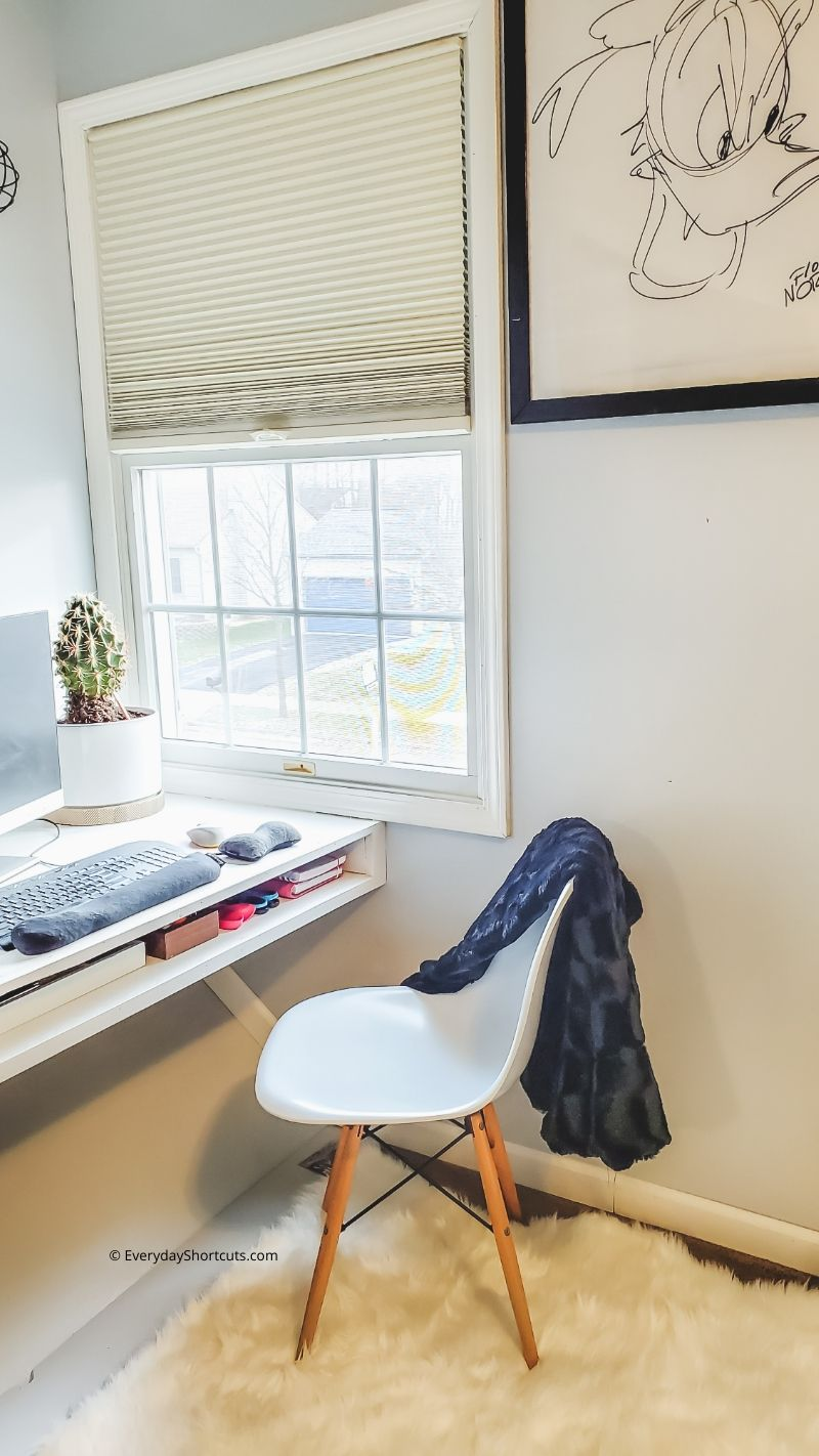 how to convert a stair box to a desk