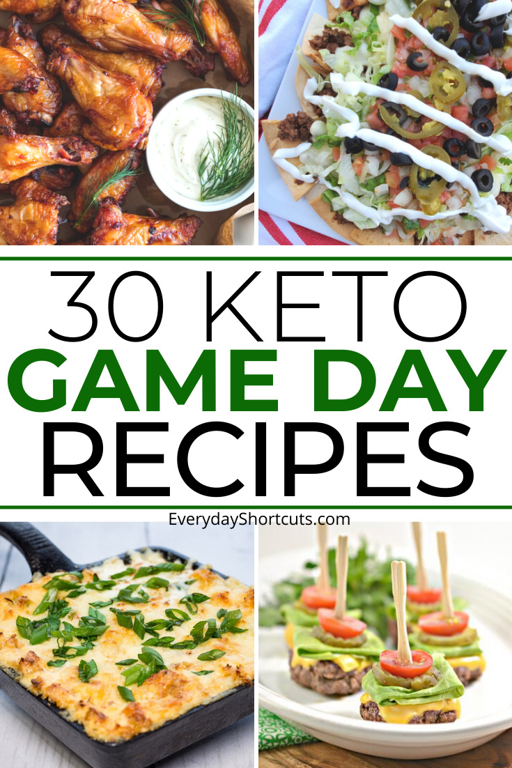 Keto Game Day Recipes