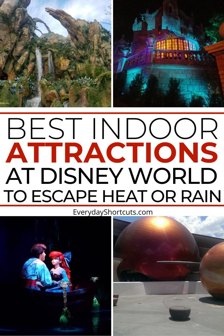 best indoor disney world attractions