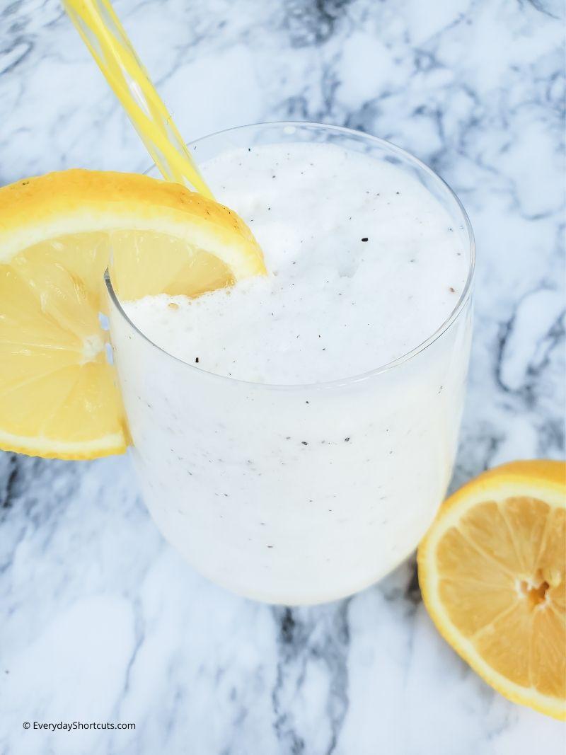 Keto Frosted Lemonade