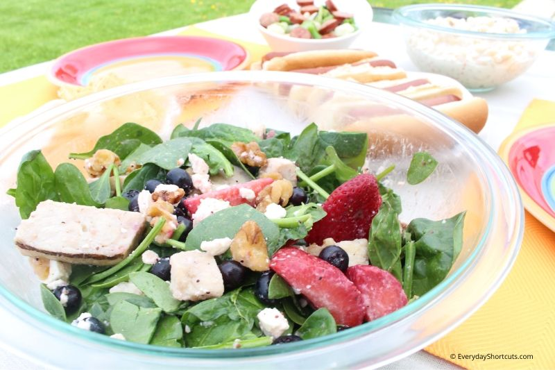 how to make Berry Chicken Salad