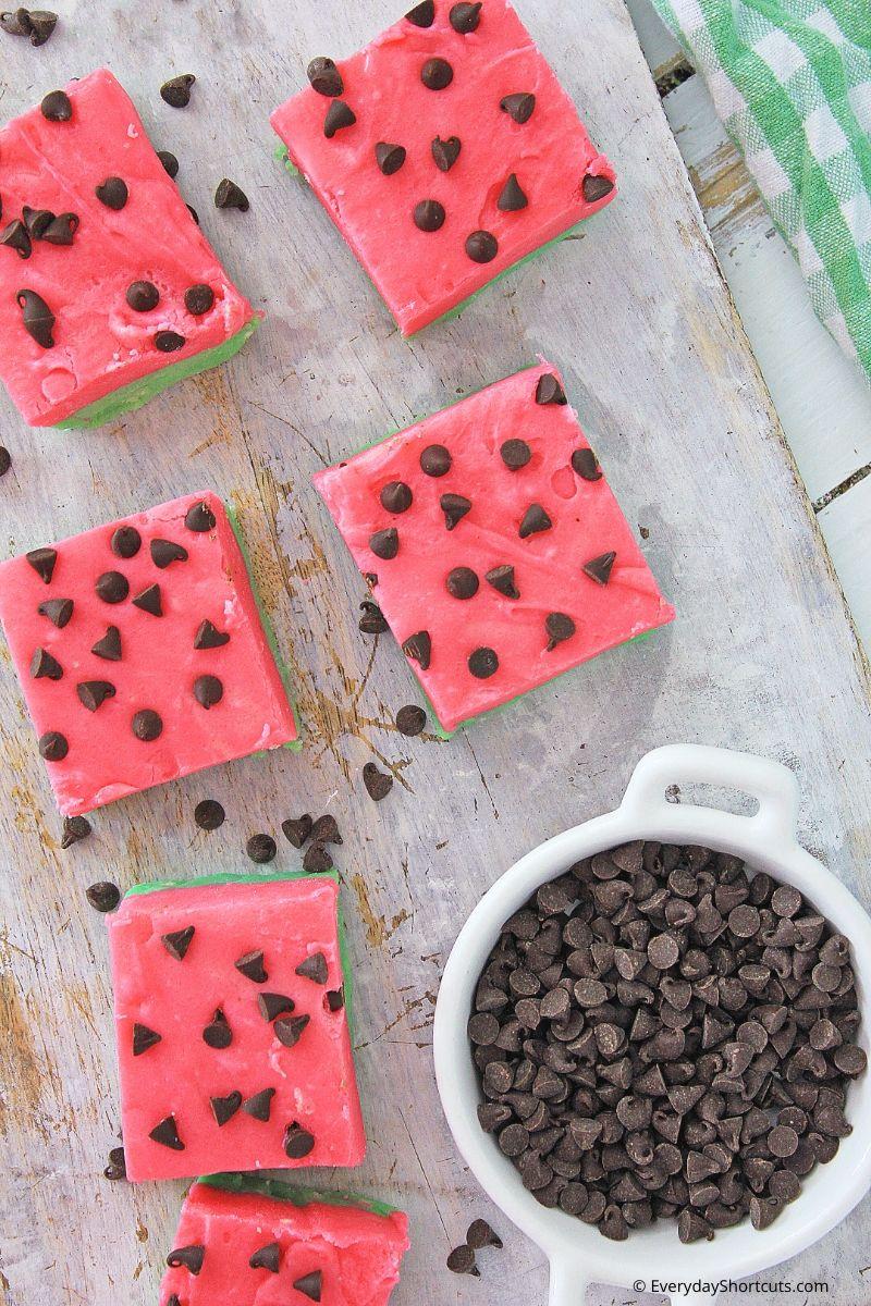 how to make watermelon fudge