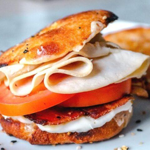 Keto Turkey Bacon Club