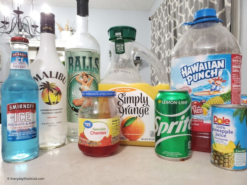 sand bucket drink