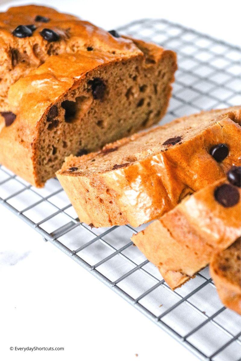 how to make Keto Cookie Dough Bread