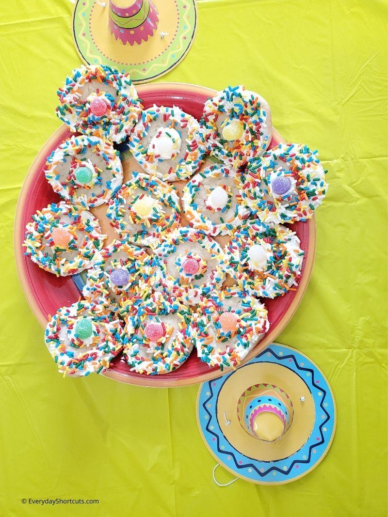 Sombrero Sugar Cookies