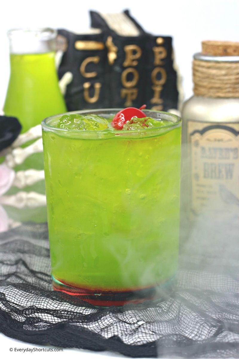 Hocus Pocus Inspired Amuck Cocktail