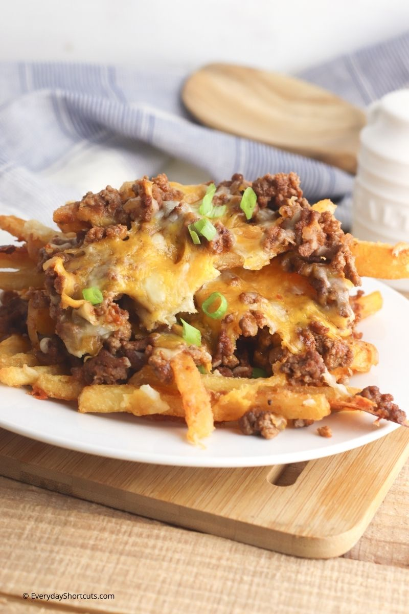 Sloppy Joe Cheese Fries