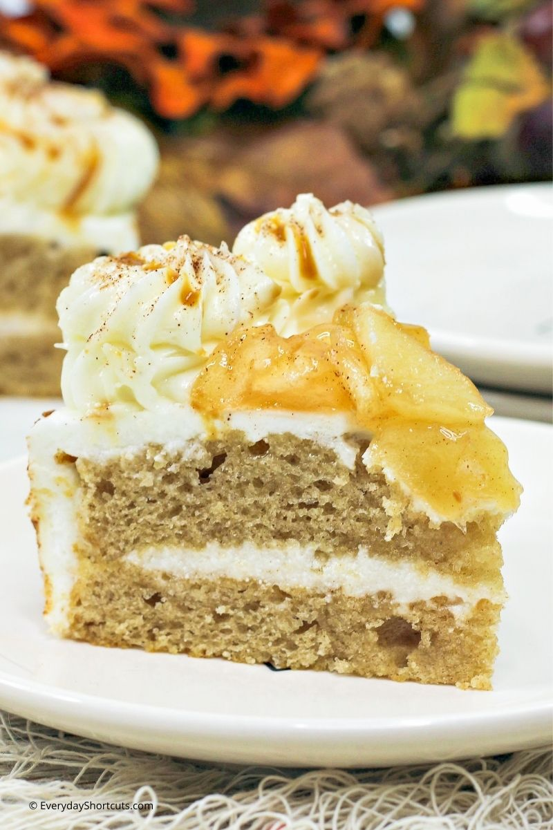 how to make Instant Pot Apple Spice Cake