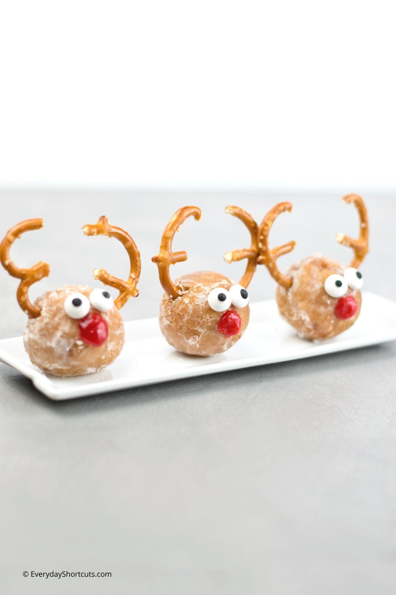 Rudolph Donut Holes for kids
