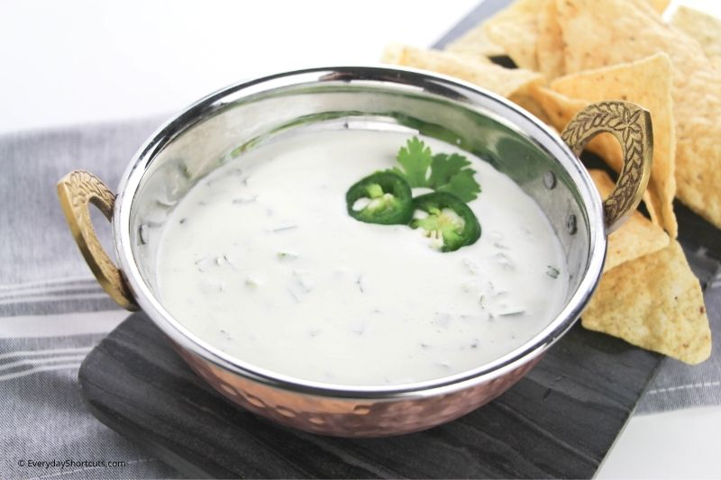 how to make Jalapeno Ranch Dip