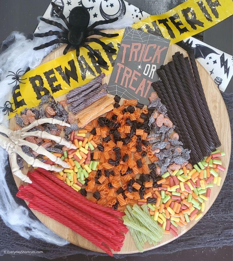 Halloween Candy Charcuterie Board