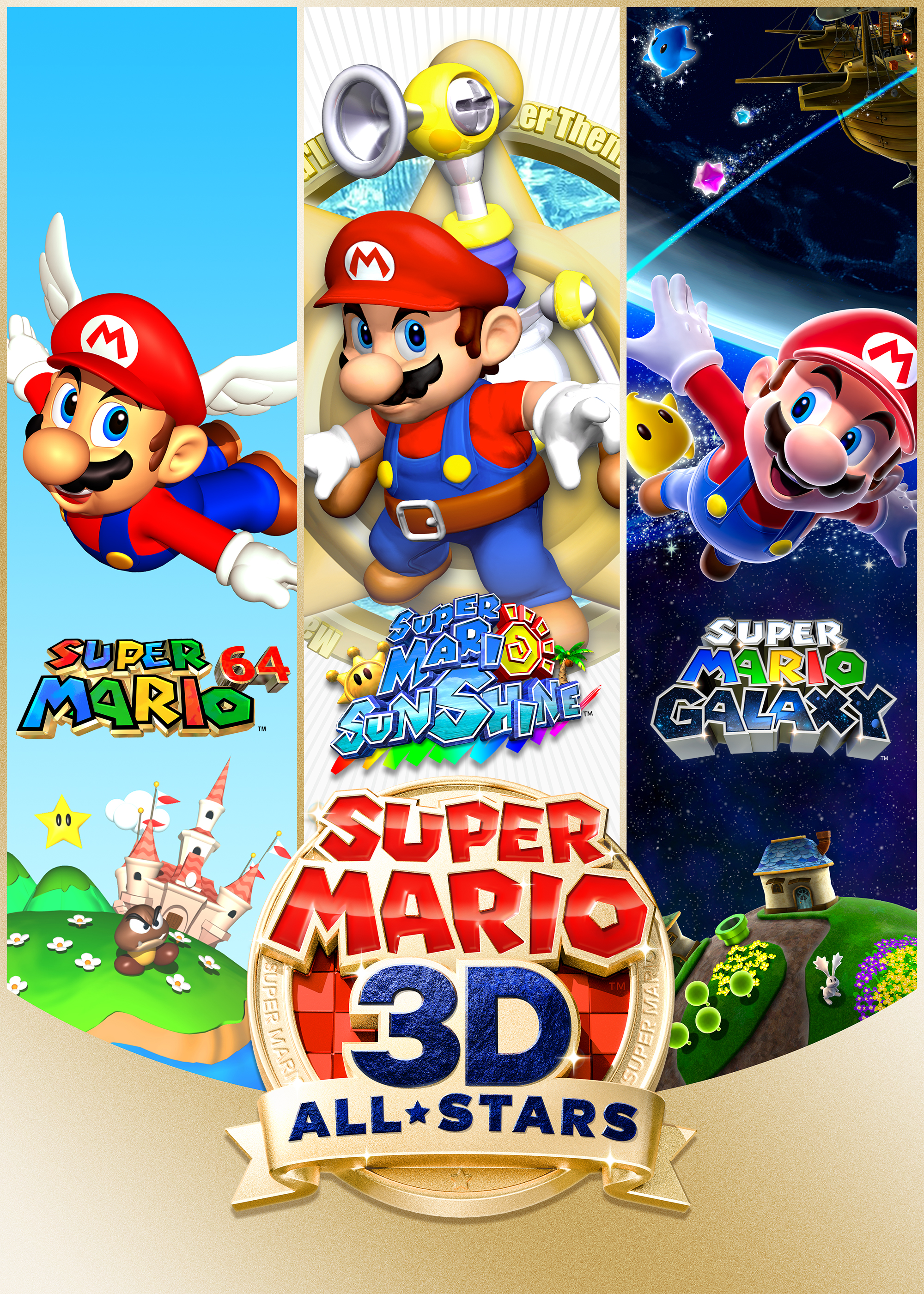 Super Mario 3D All-Stars for Nintendo Switch Image