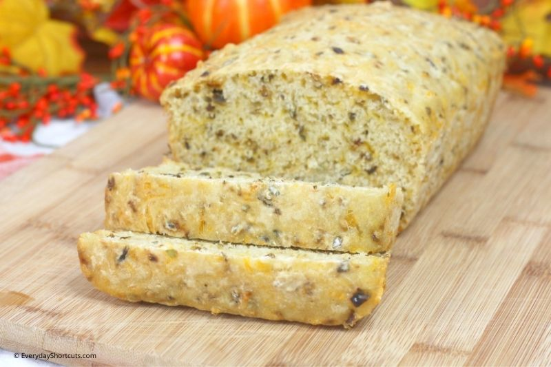 how to make Pumpkin Ale Hatch Green Chile Bread