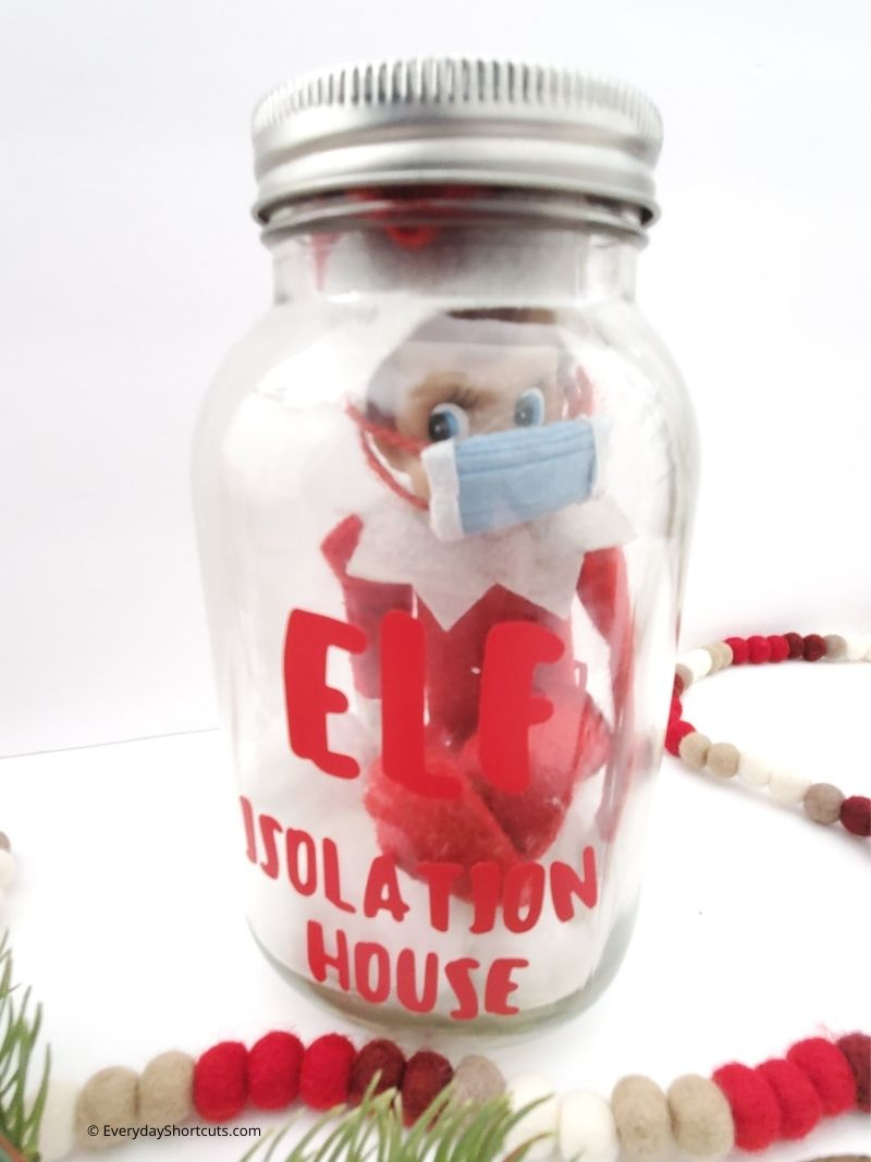 how to make an Elf on the Shelf Isolation House