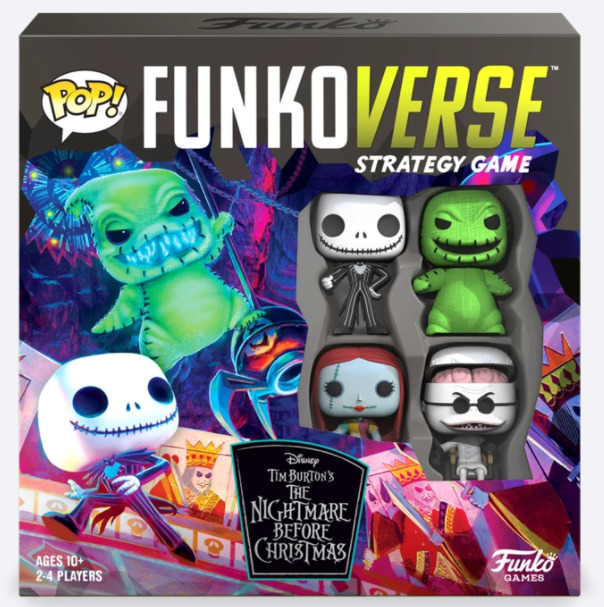 FUNKOVERSE: THE NIGHTMARE BEFORE CHRISTMAS Image