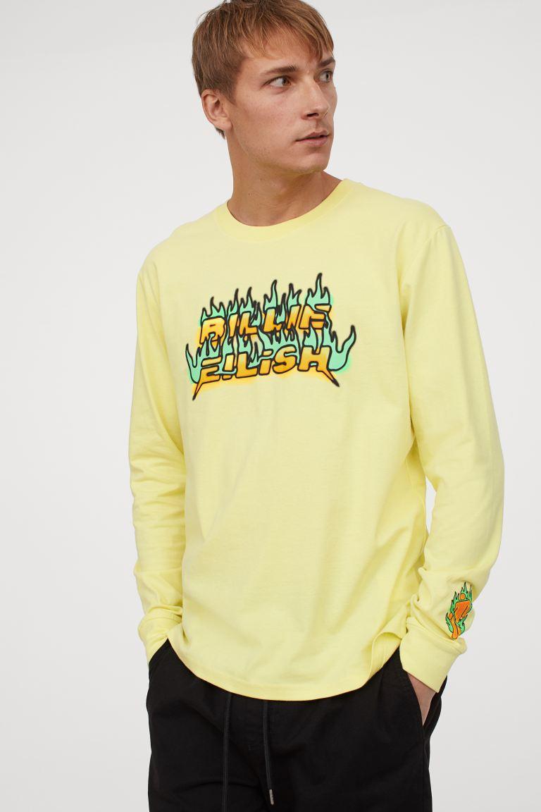 H&M Printed Jersey Shirt Image