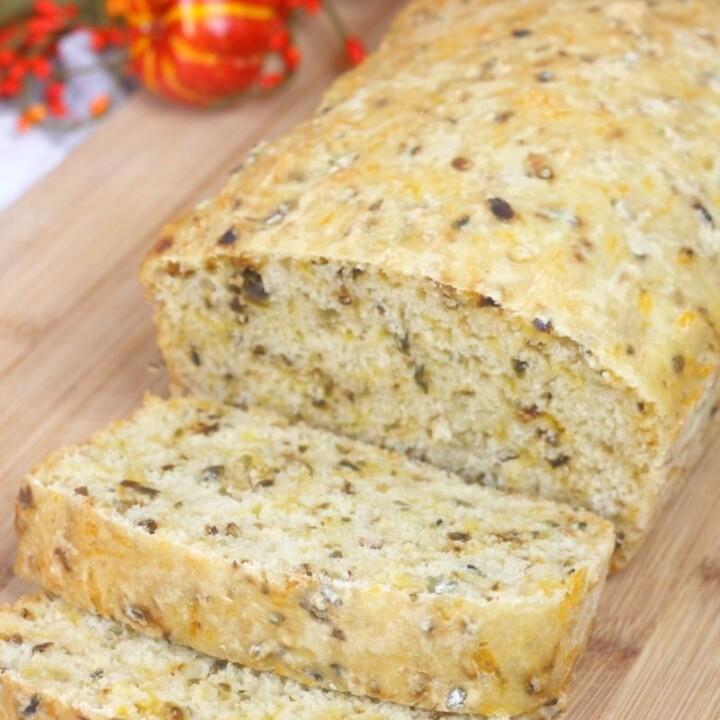 Pumpkin Ale Hatch Green Chile Bread