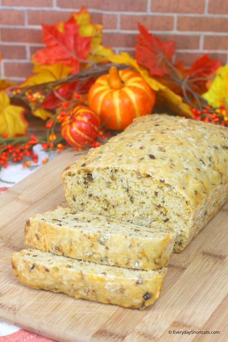 Hatch Green Chile Bread with Pumpkin Ale