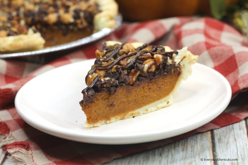 how to make Turtle Pumpkin Pie