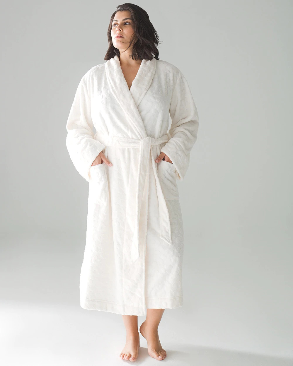 Soma Luxe Textured Long Robe Image