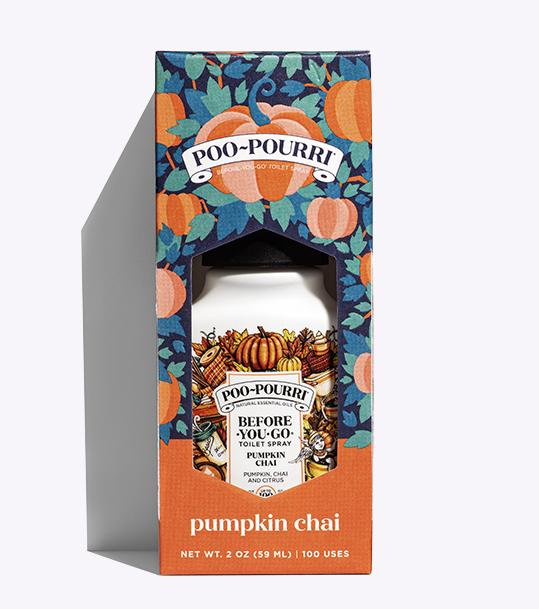Poo-Pourri Pumpkin Chai Image