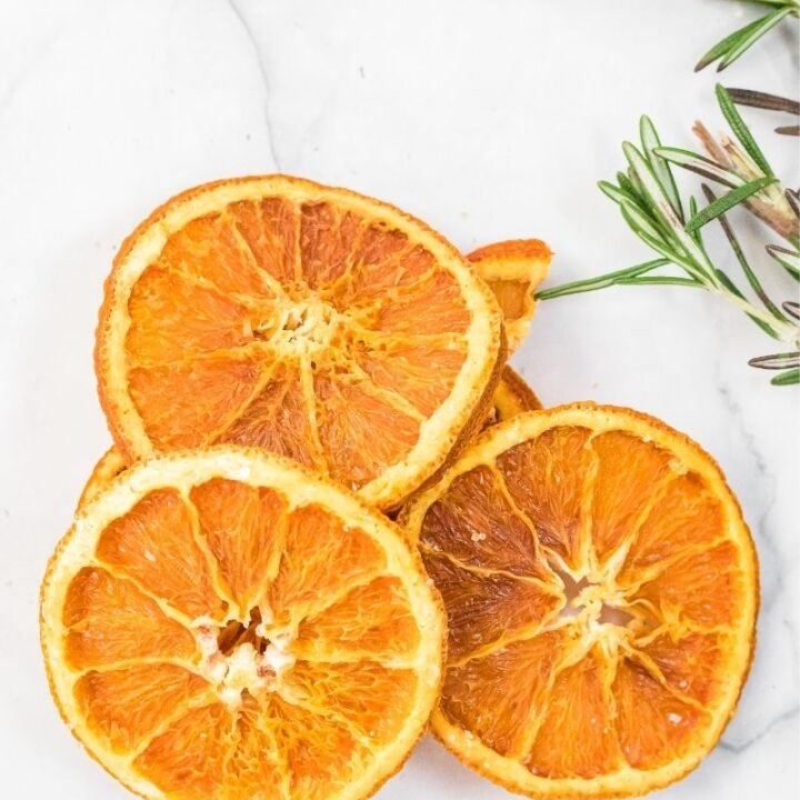 Dehydrated Orange Slices