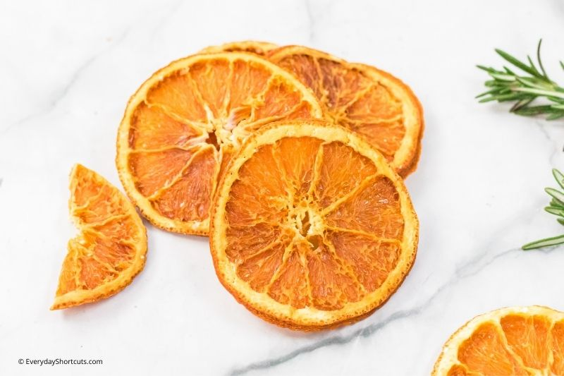 how to make Dehydrated Orange Slices