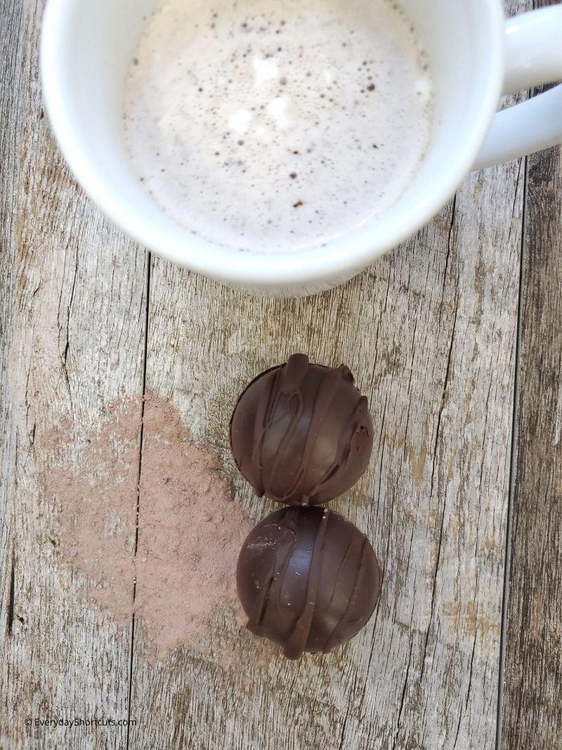 keto hot cocoa bombs