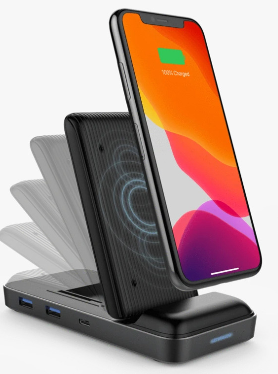 HyperDrive Wireless Charger & USB-C Hub Image