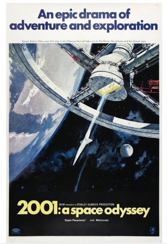 Vintage Prints Original 2001: A Space Odyssey Image