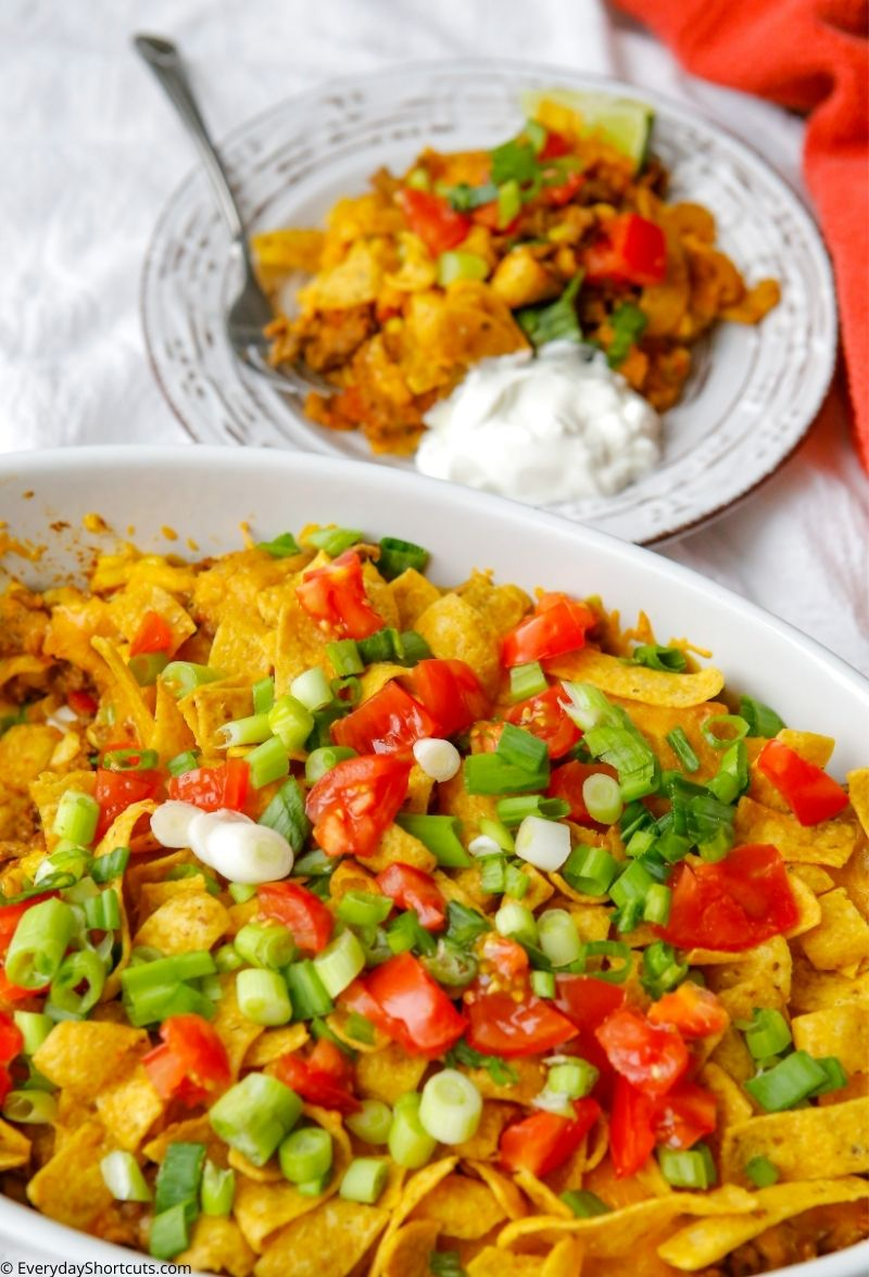 Frito Taco Casserole for busy nights