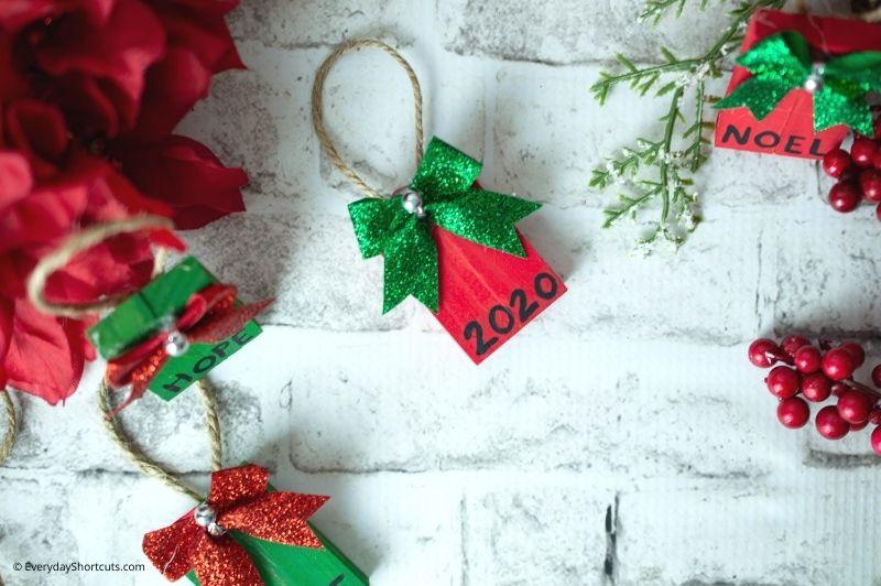 Tumbling Tower Christmas Ornaments