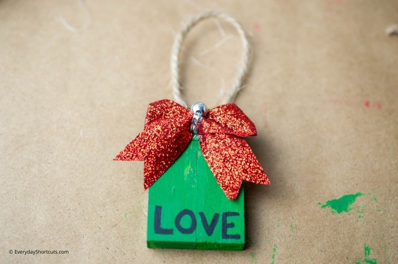 wooden ornaments from Tumbling Tower Dollar Tree game
