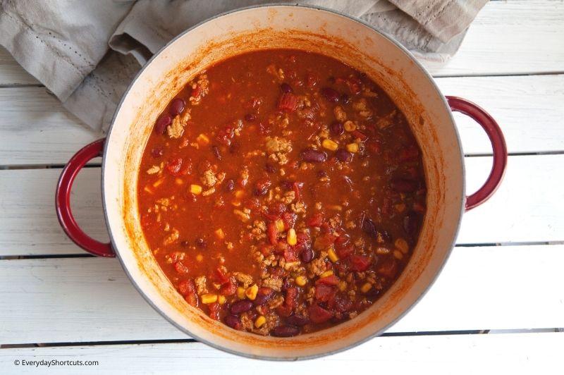 ww turkey chili