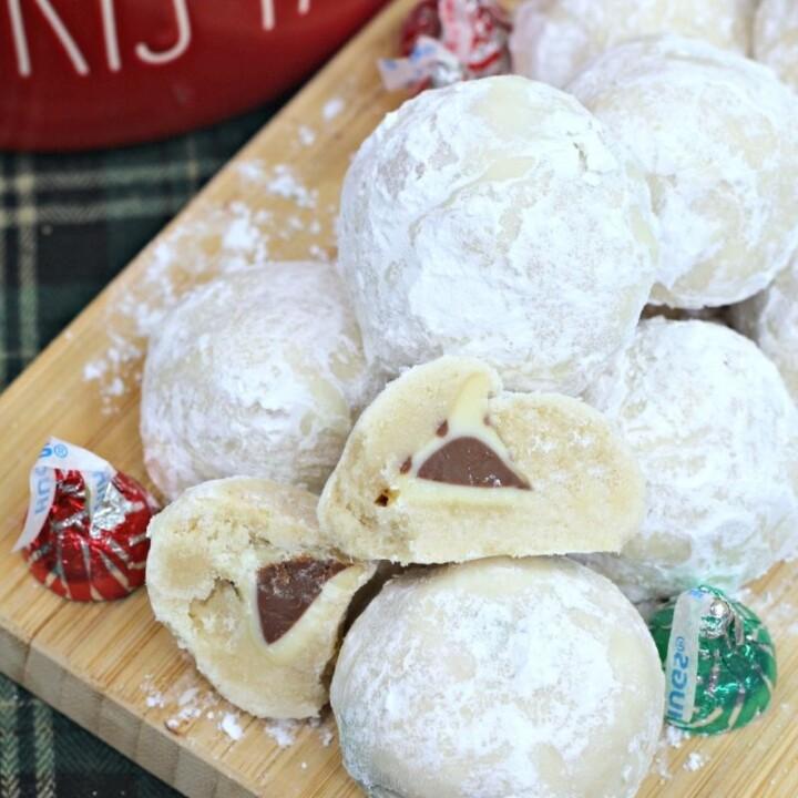 Surprise Snowball Cookies
