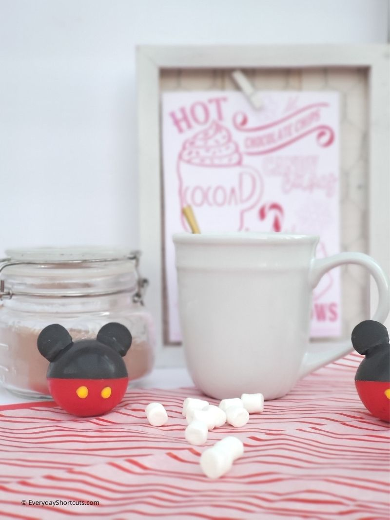 Mickey Mouse Hot Cocoa Bombs