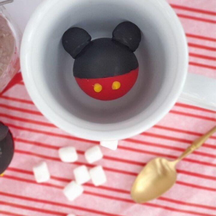 Mickey Hot Chocolate Bombs