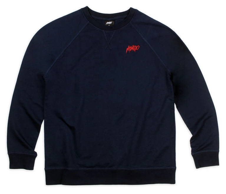 Mondo Thrasher Embroidered Crew Neck Sweatshirt Image