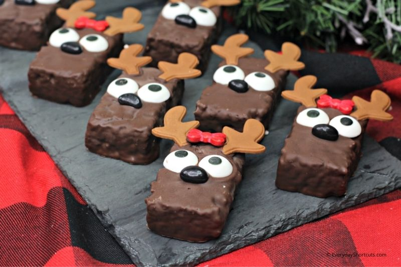 how to make reindeer christmas treats