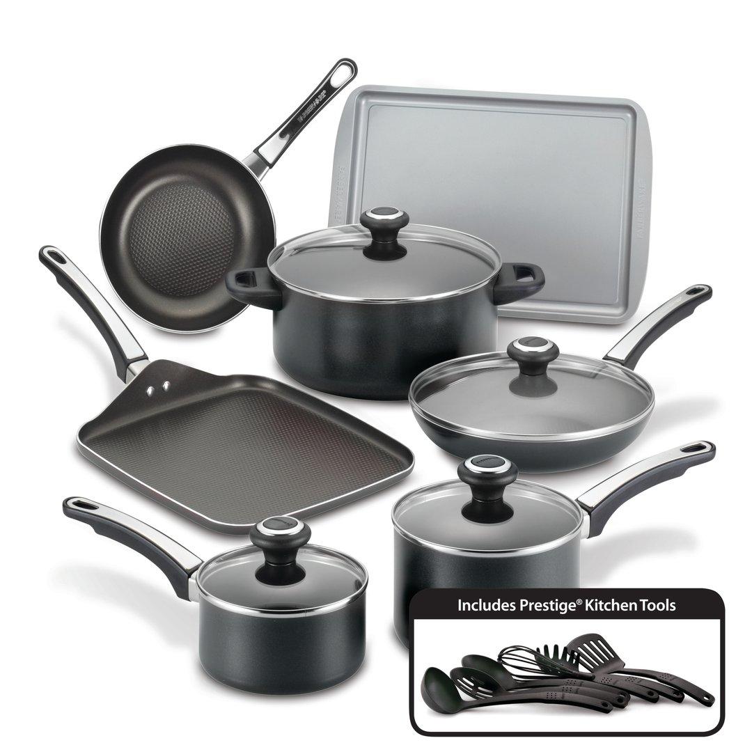 Farberware High Performance 17-Piece Nonstick Cookware Set Image