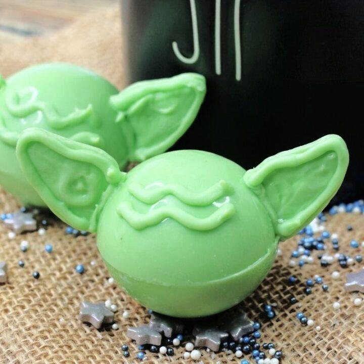 Yoda Hot Cocoa Bombs