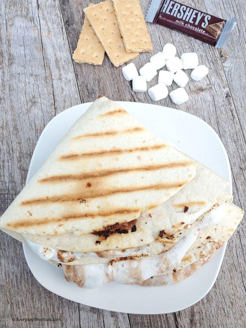 smores tortilla