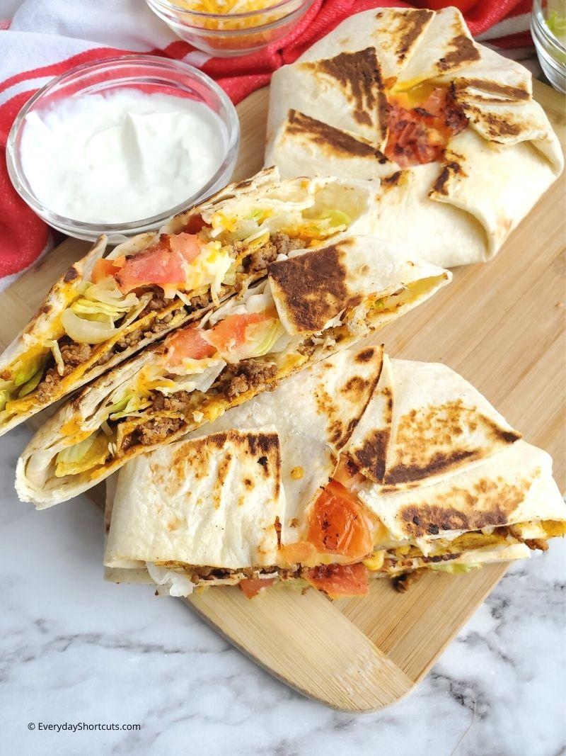 How to Make Taco Bell Crunchwrap Supreme