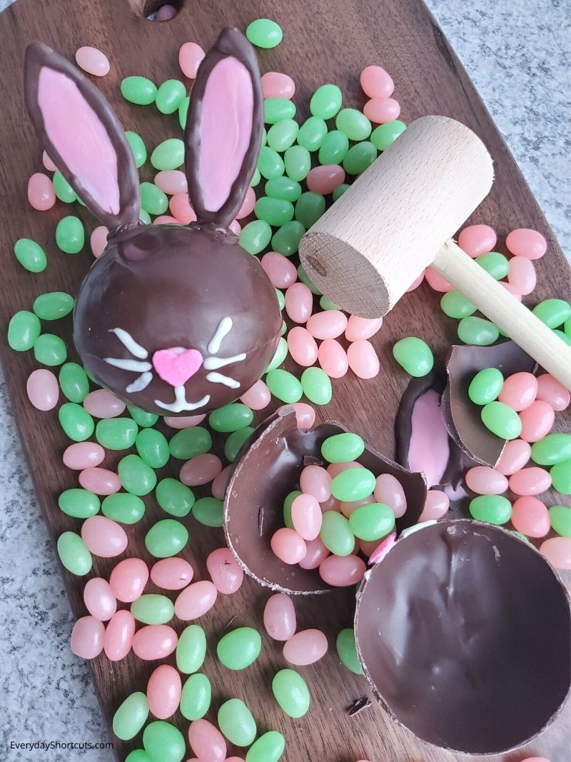 Breakable Chocolate Bunny