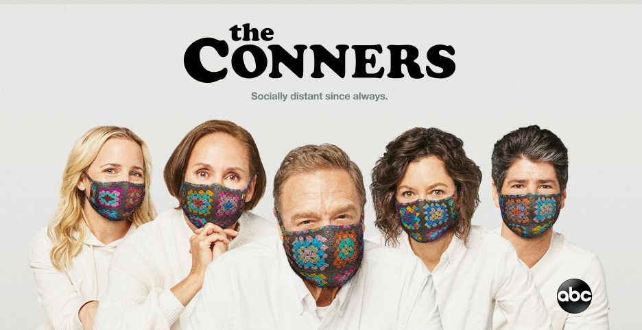 The Conners Sara Gilbert and Ames McNamara